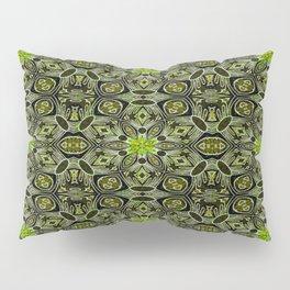 Elegant Vintage Geo Floral Pillow Sham
