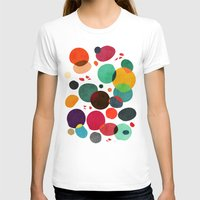 koi T-shirts featuring Lotus in koi pond by Picomodi