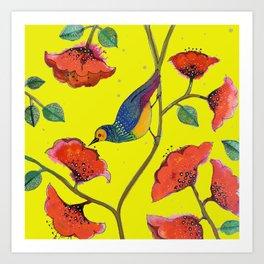 bohobirdie Art Print