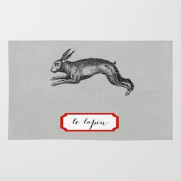 le lapin Rug