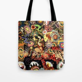 Chaos 2 Fire Tote Bag