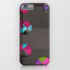 optical illusion black Slim Case iPhone 6s