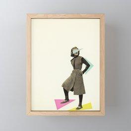 Shapely Figure Framed Mini Art Print