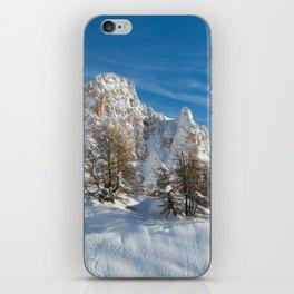 Alpine Mountain, Les Arcs Resort iPhone Skin