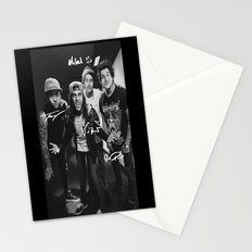 Pierce The Veil - Vic Fuentes, Mike Fuentes, Tony Perry & Jaime Preciado Stationery Cards