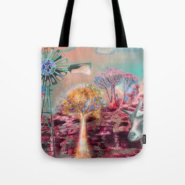Wind Punk Quiver Heat Tote Bag