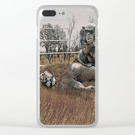 The Undefeated Chump Clear iPhone Case
