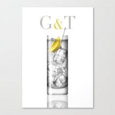 G&T Canvas Print