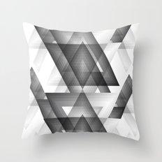 Trianglism Throw Pillow