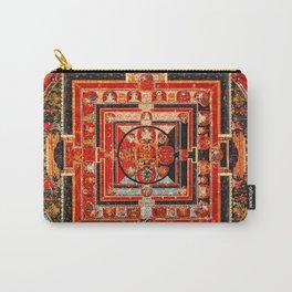 Mandala Manjushri Bodhisattva Transcendent Wisdom Carry-All Pouch