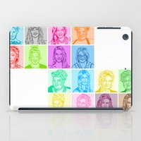 glee iPad Cases featuring Glee by ONEX8