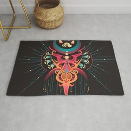 DreamCatcher-Wolf Spirit Rug