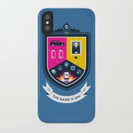 The Game is On! - blue version iPhone Case