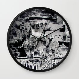 Improbable town Wall Clock