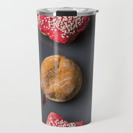 Donut Worry, Be Happy Travel Mug