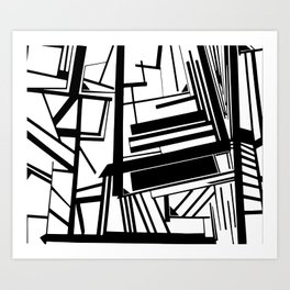 Visual Think Art Print