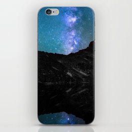 Milky Way Mountain iPhone Skin