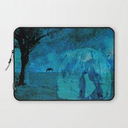 DREAM HORSE BLUE Laptop Sleeve