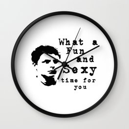 Arrested Development: Fun and sexy Times Wall Clock