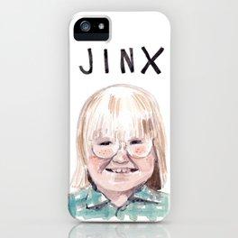 Cousin Oliver - Jinx iPhone Case