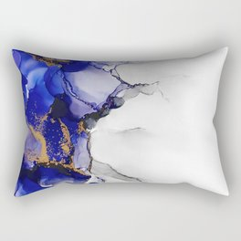 Lightning Blue Rectangular Pillow