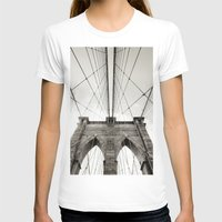 brooklyn bridge T-shirts featuring Brooklyn Bridge by Niklas Veenhuis