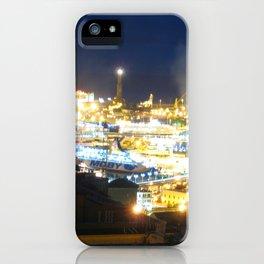 Porto di Genova iPhone Case