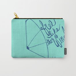 Free like the wind Carry-All Pouch