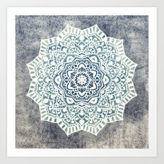 Fancy Boho Mandala Art Print