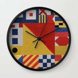 Signaling O Flag Wall Clock