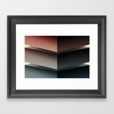 Color Cube Framed Art Print