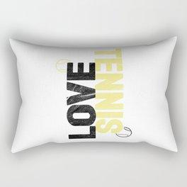 Tennis Tennis Ball Ball Sports Gift Rectangular Pillow