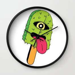 Cyclops Ice Cream Wall Clock