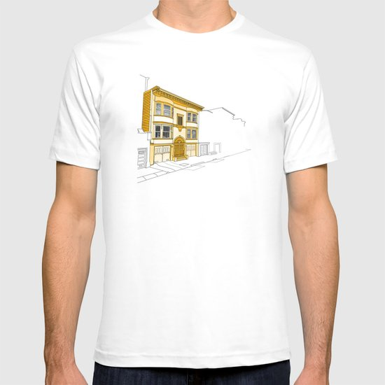 Yellow San Francisco Haus T-shirt
