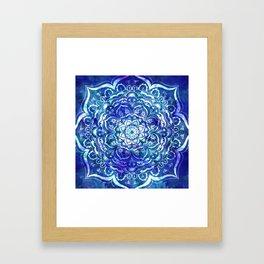 Mystical Mandala Framed Art Print