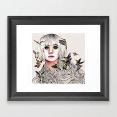 Whirring Framed Art Print
