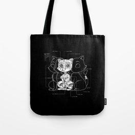 Cat Inside Tote Bag