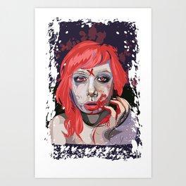 First Taste Art Print