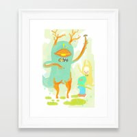 cookie Framed Art Prints featuring cookie by kuri