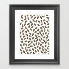 Bev Fresh Pattern Framed Art Print