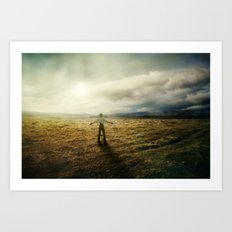Acknowledging The Day Art Print
