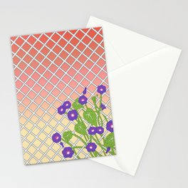 Morning Glory At Sunset Stationery Cards