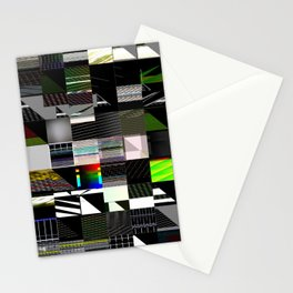 Abstract digitalism pt. I Stationery Cards