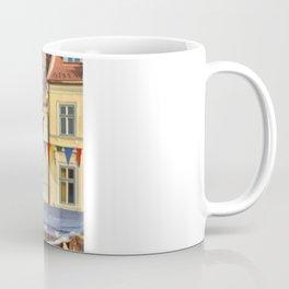 Falcon Landing on Falconer's Gauntlet Coffee Mug