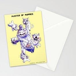 Master of Puppies - Dario Splendido Stationery Cards