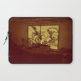 BLACK Electronic Underground #5 Laptop Sleeve