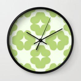 Leafage Foliage Wall Clock