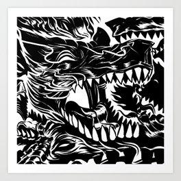 Wolf Core Art Print