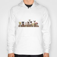 levi Hoodies featuring Christmas with Squad Levi 2.0 by PaigeAWArt