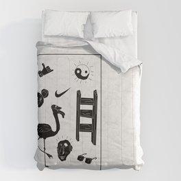 ☯  ~ • ✈ ♈ ☼ ♫ ☥ • ~  ☯ Comforters